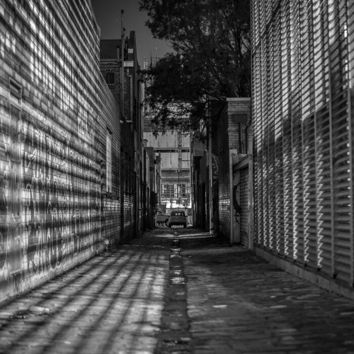 PRK-Brunswick East alley